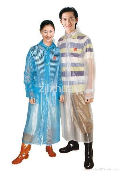 harga Jas hujan semi transparan pvc raincoat ringan promo Tokopedia.com