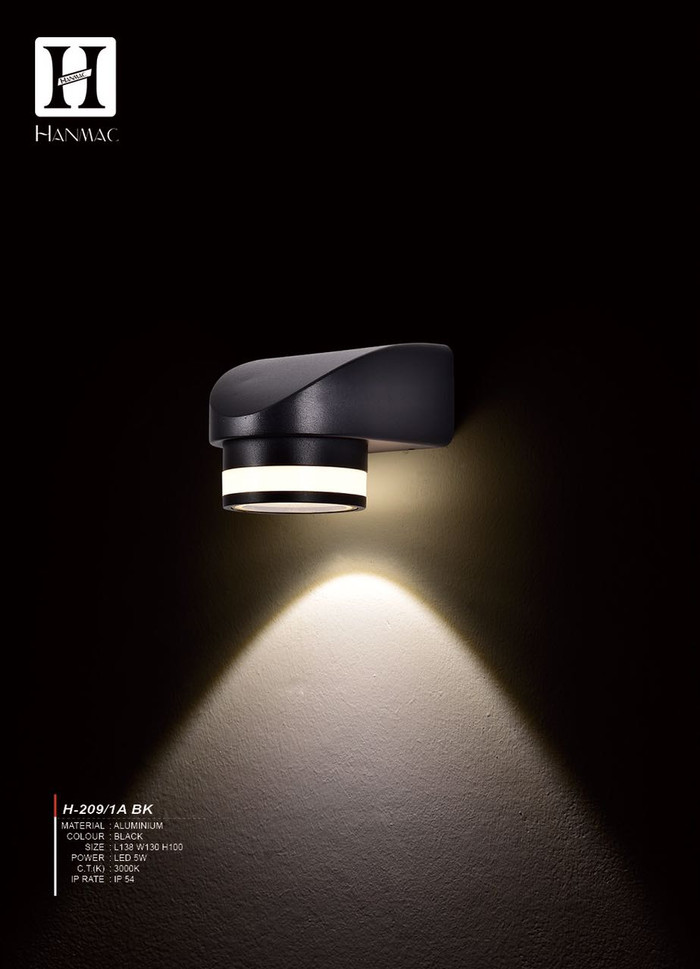 harga H209 lampu dinding taman hias led sorot wall light 5w pagar waterproof Tokopedia.com