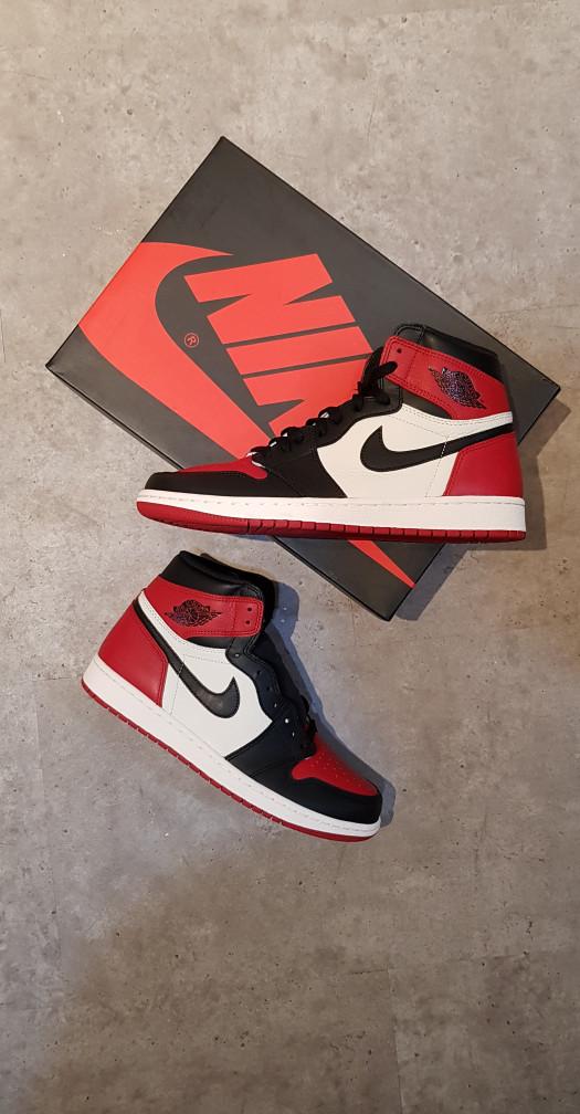 94c70014a344e4 Jual Air Jordan 1 Bred Toe