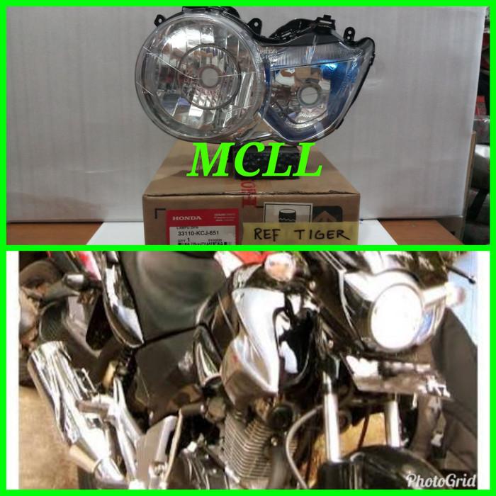 REFLEKTOR/LAMPU DEPAN TIGER REVO MATA PICAK ORIGINAL AHM 33110-KCJ-651