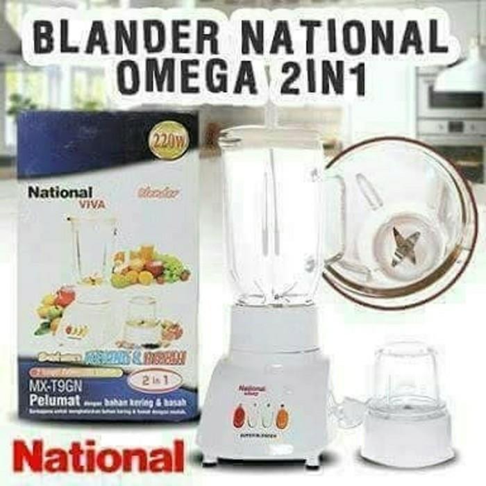 Blender nasional 2 in 1 / blender nasional 2 in 1 200 watt