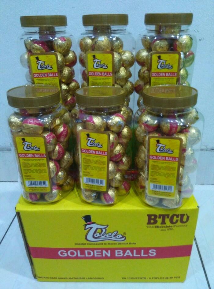 Jual Coklat Tobelo Golden Ball Cek Harga Di PriceArea