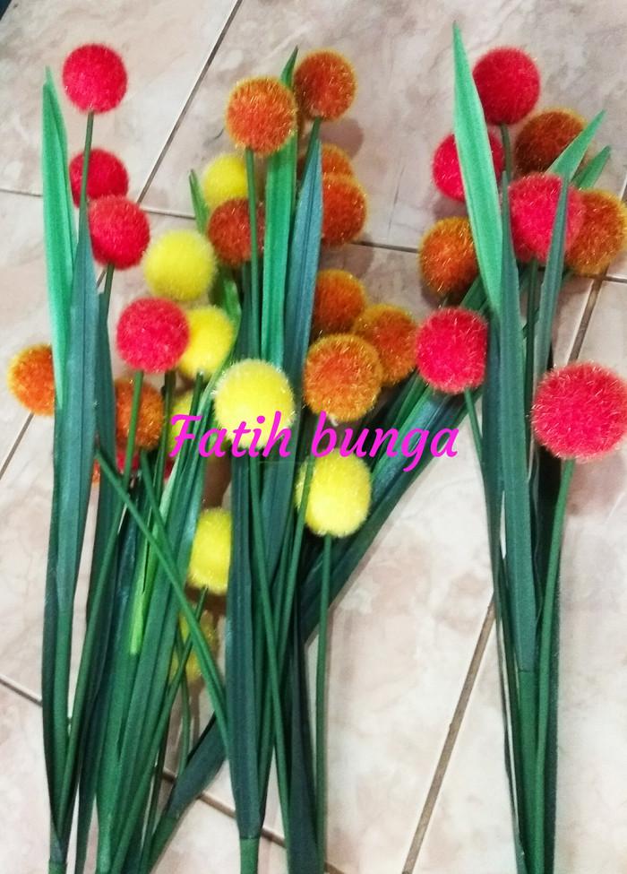 Jual Bunga Pompom Bunga Plastik Bunga Hias Kota Bogor Fatih Bunga Plastik Tokopedia