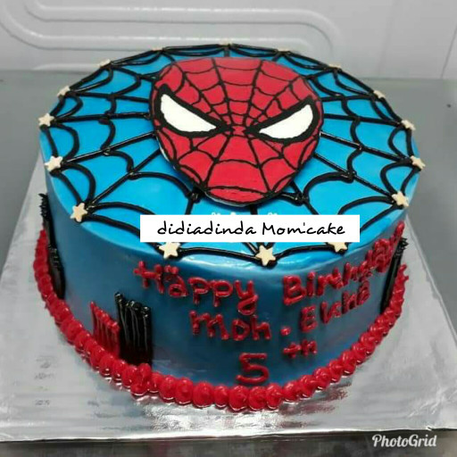 harga Cake karakter spiderman cibubur Tokopedia.com