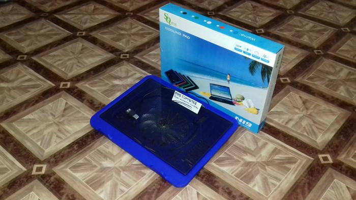 Cooling pad N19/Kipas Laptop/Coolfan/Cooler Fan Laptop/Notebook 1Kipas - Hitam