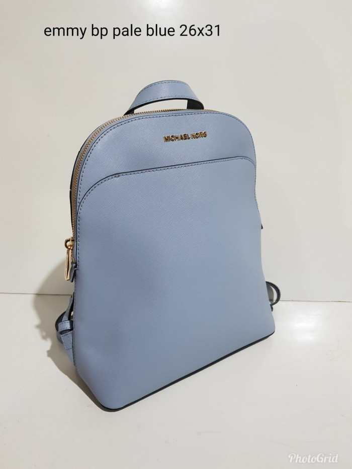 833214a9a789 Jual TAS MICHAEL KORS ORIGINAL - MK EMMY LARGE BACKPACK PALE BLUE ...