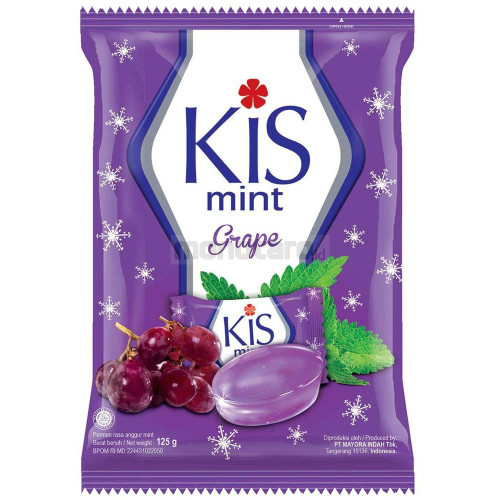 Jual Permen Kis Mint Grape 125gr Kab Bogor Yzrfajar21shop
