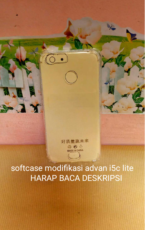 Case soft advan i5c lite anticrack casing silikon
