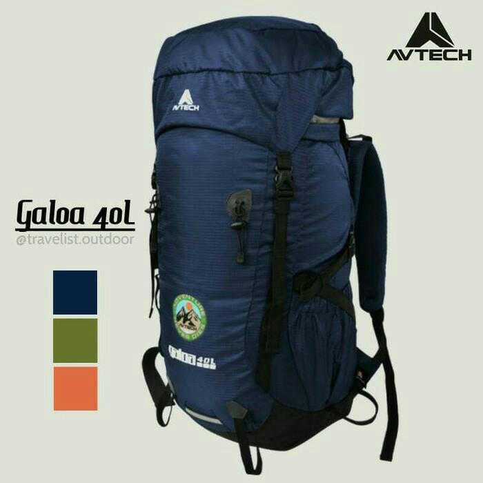 Avtech galoa 40l tas ransel gunung caril keril backpack hiking bawah