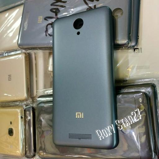 Tutup Belakang Casing Kesing Xiaomi Redmi Note 2 Backdoor Xiomi HITAM - Hitam