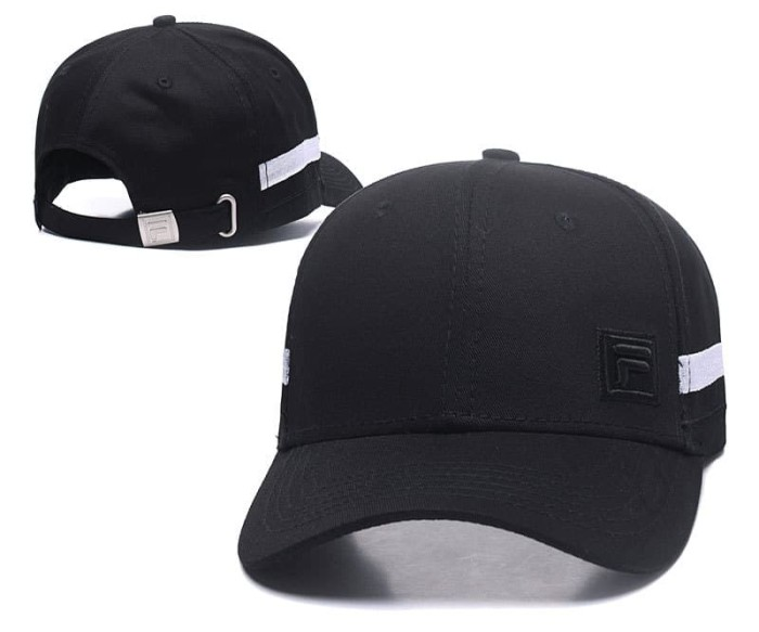 Jual Topi Baseball Cap Fila Hitam Putih Pink Black Sport Bola IMPORT ... e008969cee