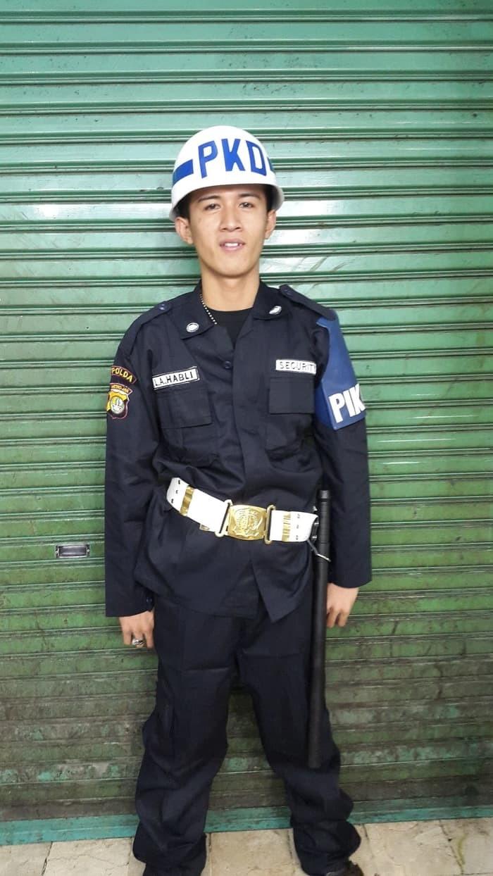 Jual Stelan Pakaian Security Satpam POLOS Kota Bandung Army Look1