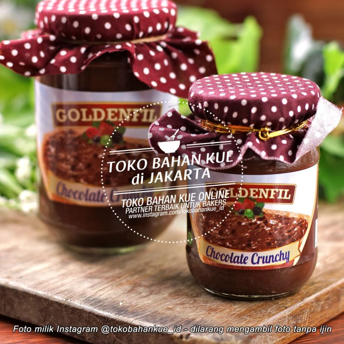 harga Goldenfil chocolate selai coklat crunchy cream crispy ovomaltine 350gr Tokopedia.com