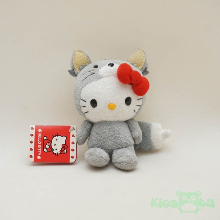 Jual Gantungan Kunci Boneka Hello Kitty Original Kostum Tikus