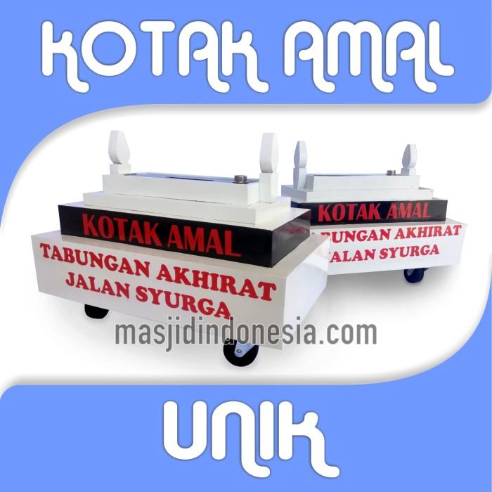 Desain Stiker Kotak Amal Masjid - Rumah Joglo Limasan Work