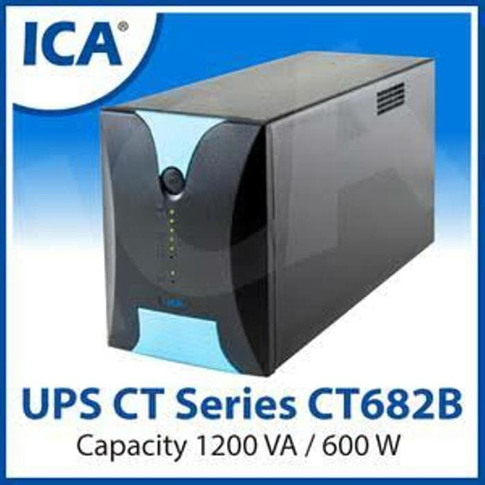 harga Ups ica ct 682b 1200va 600watt Tokopedia.com