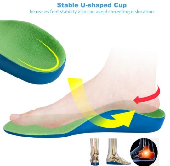harga Insole sepatu koreksi anak untuk flat foot (kaki rata) Tokopedia.com