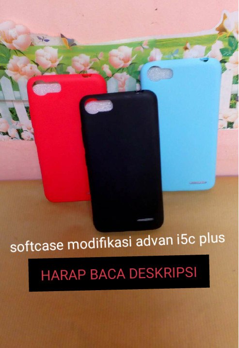 Case soft advan i5c plus mate casing silikon