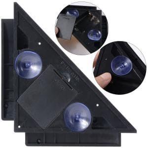 Vertikal horizontal garis laser proyeksi tingkat persegi sudut siku