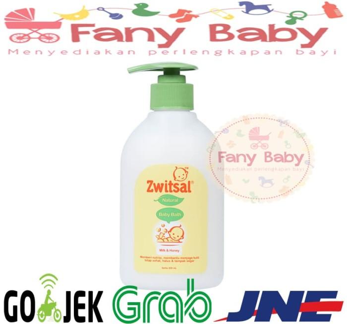 harga Zwitsal baby bath milk & honey 300 ml / sabun bayi pummp Tokopedia.com
