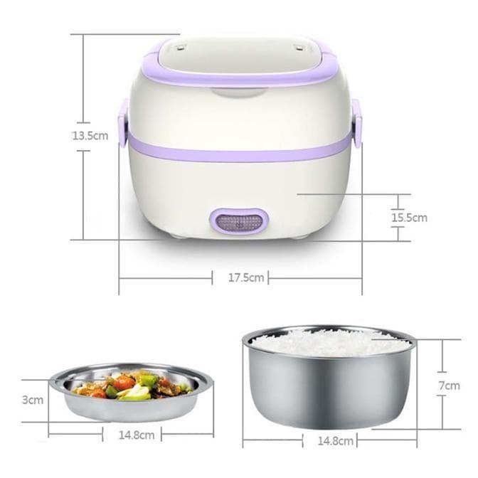 StarHome Rice Cooker Mini 2 Susun kapasitas 1 L - Penanak Nasi Mini