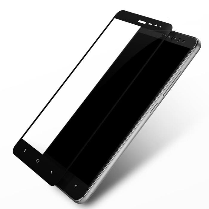 Tempered Glass Full 3D Xiaomi Redmi Note 3/Pro (Anti Gores Kaca) Warna