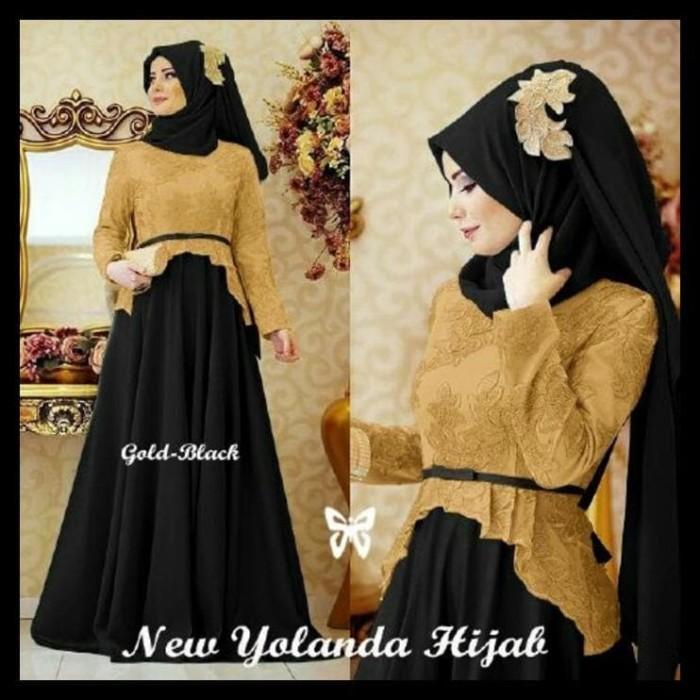 Harga Hemat! Gamis / Baju / Pakaian Wanita Muslim Yolanda Syari 2