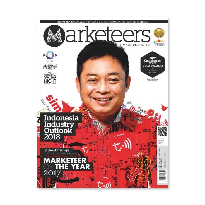 harga Majalah marketeers edisi desember 2017 - januari 2018 Tokopedia.com