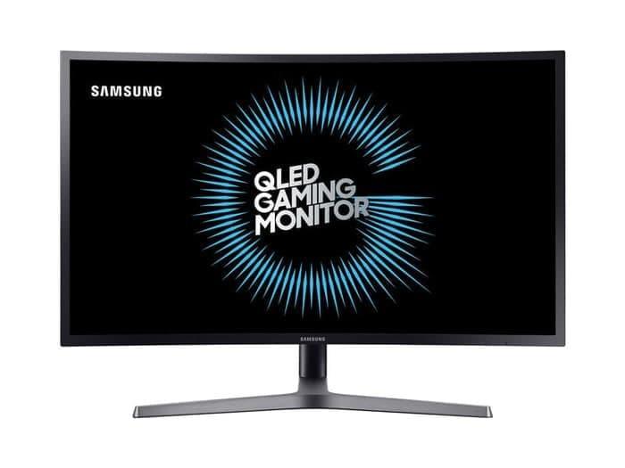 harga Monitor samsung 32  inch c32hg70qqe qled curved gaming c32hg70 garansi Tokopedia.com