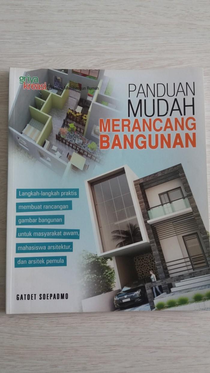 Jual PANDUAN MUDAH MERANCANG BANGUNAN Kota Tangerang Selatan LARIS MANIS BOOK STORE