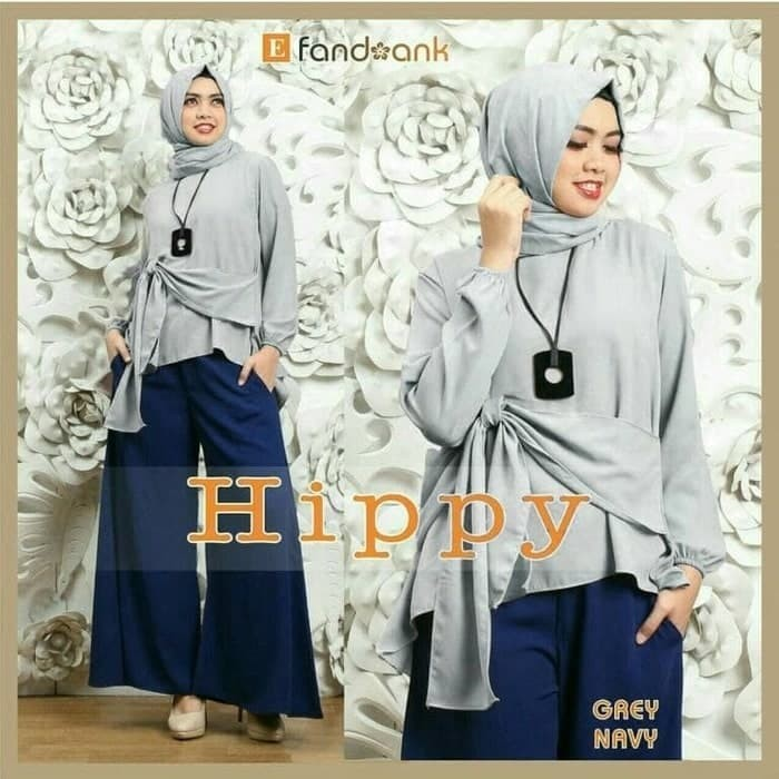 Hijab Set Kulot 3in1 Hippy Ribbon
