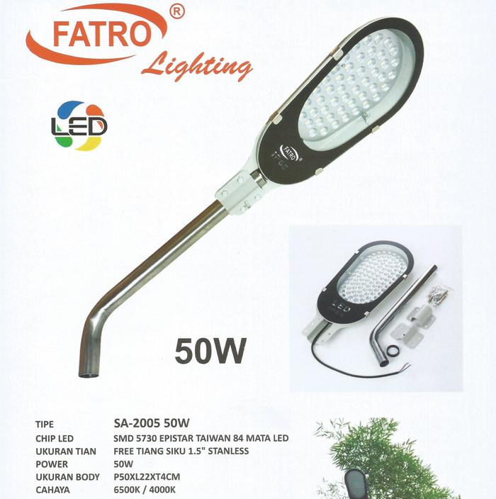 Fatro street / garden light / lampu jalan / taman led 50 watt