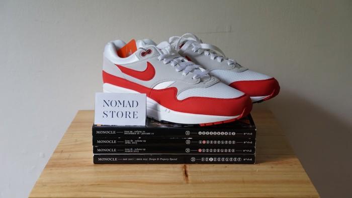 newest bfca7 3bca2 Nike Air Max 1 OG 30th Anniversary University Red - Merah, 10US