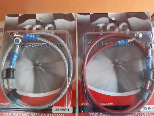 Selang rem TDR Racing 35 inch 24 inch - Merah