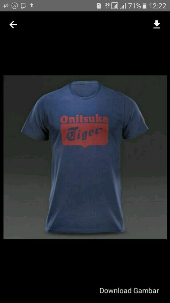 Jual Tshirt Baju Kaos ONITSUKA TIGER Keren Kota Bekasi Adam Jordan