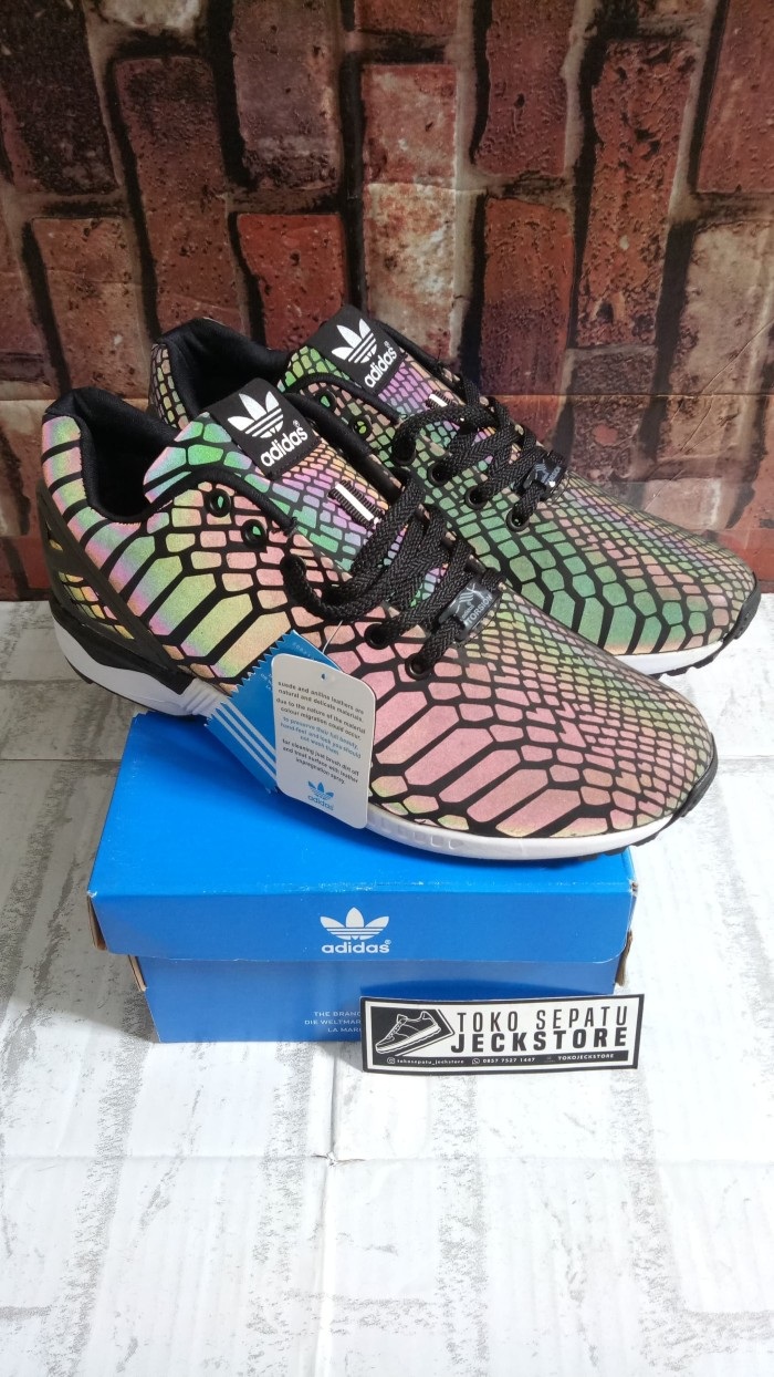 Jual Sepatu Adidas Zx Flux Xeno Glow In The Dark Jakarta Selatan
