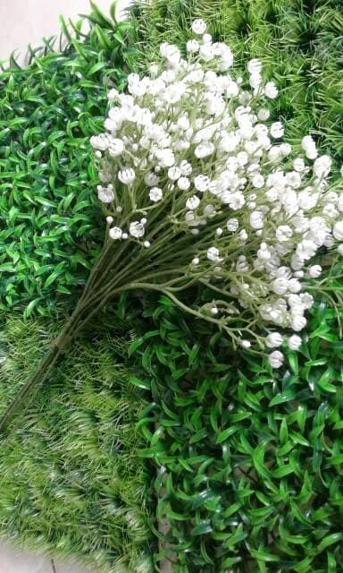 Jual bunga baby breath plastik kecil putih cantik murah - saudah ... f768bf6a96