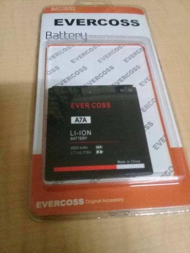 Baterai batre battery cross/evercoss a7a