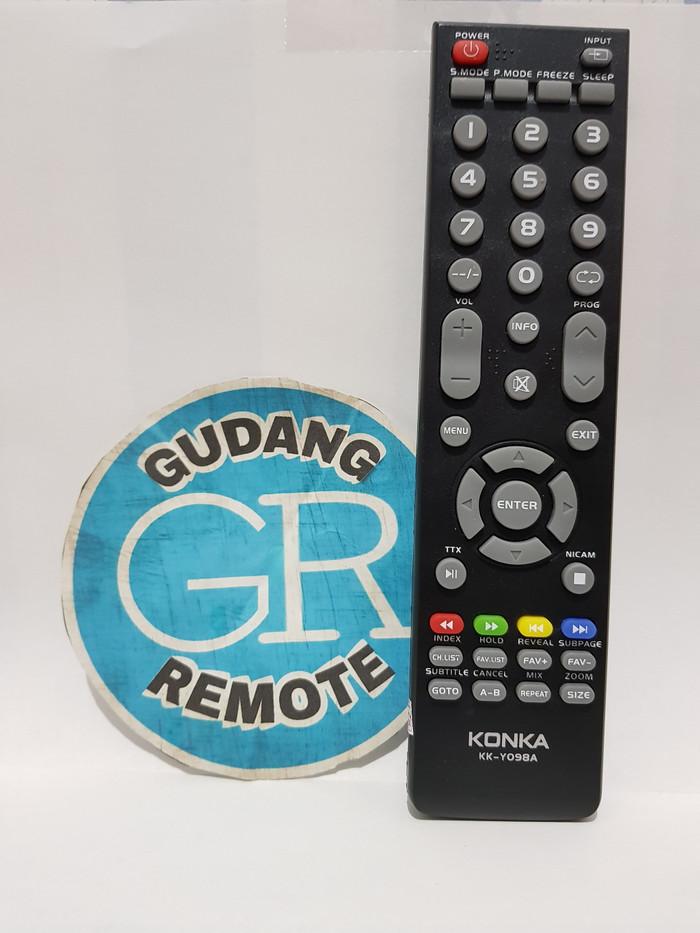 harga Remote remot tv konka lcd led original asli Tokopedia.com