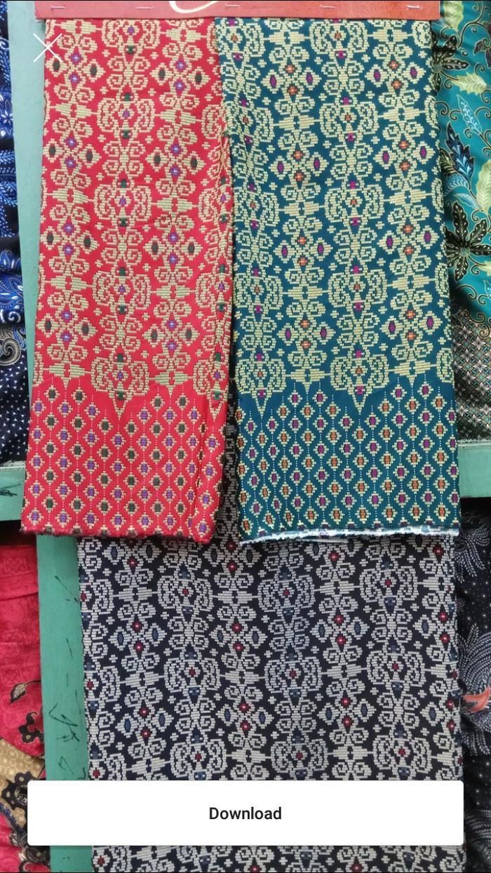 Jual Kain Batik Bermotif Semi Sutra Kain Batik Kain Baju Kain Bahan Kota Yogyakarta Yunih Shop