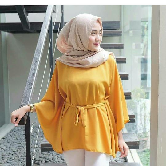 Baju Atasan Wanita Clove Blouse Tunik Baju Muslim Blus Muslim