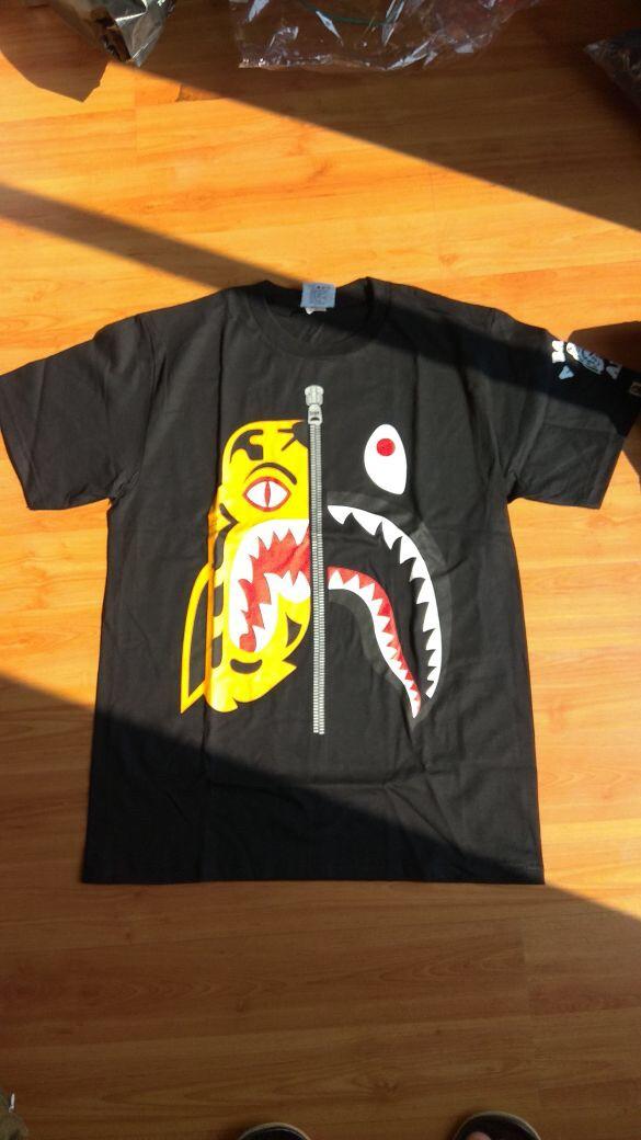 a00bbe89 Jual Tshirt Bape Tiger Shark by Bathing Ape Premium Quality - Soul ...