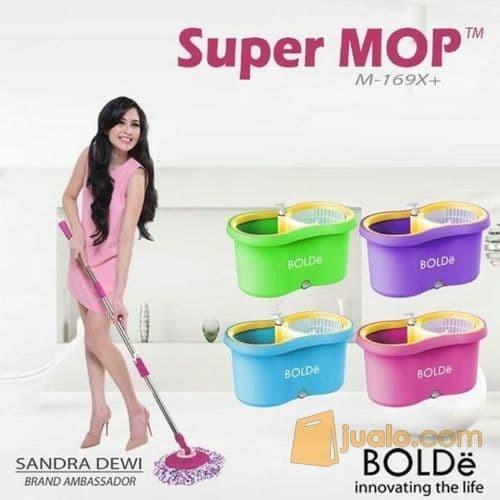 Bolde Super Mop Original M169X+ Alat Pel Putar Spin Tekan M-169X+ Plus