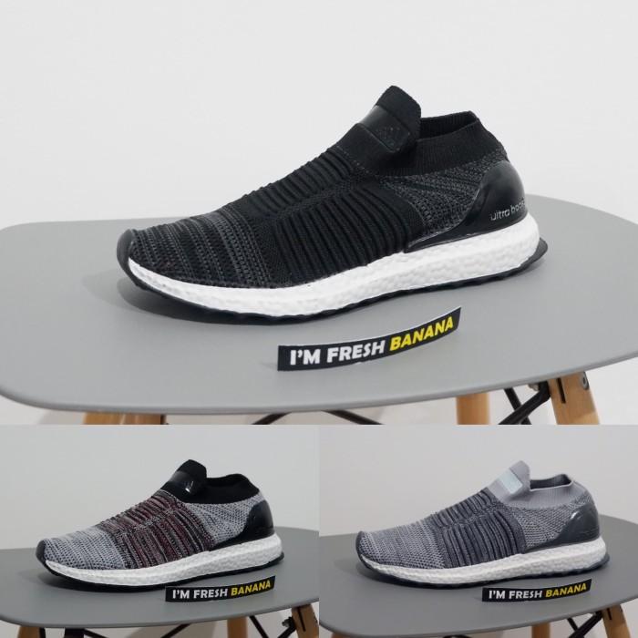 f3a1f02fe Jual Sepatu Adidas Ultra Boost Ultraboost Uncaged Laceless Dark Blue ...