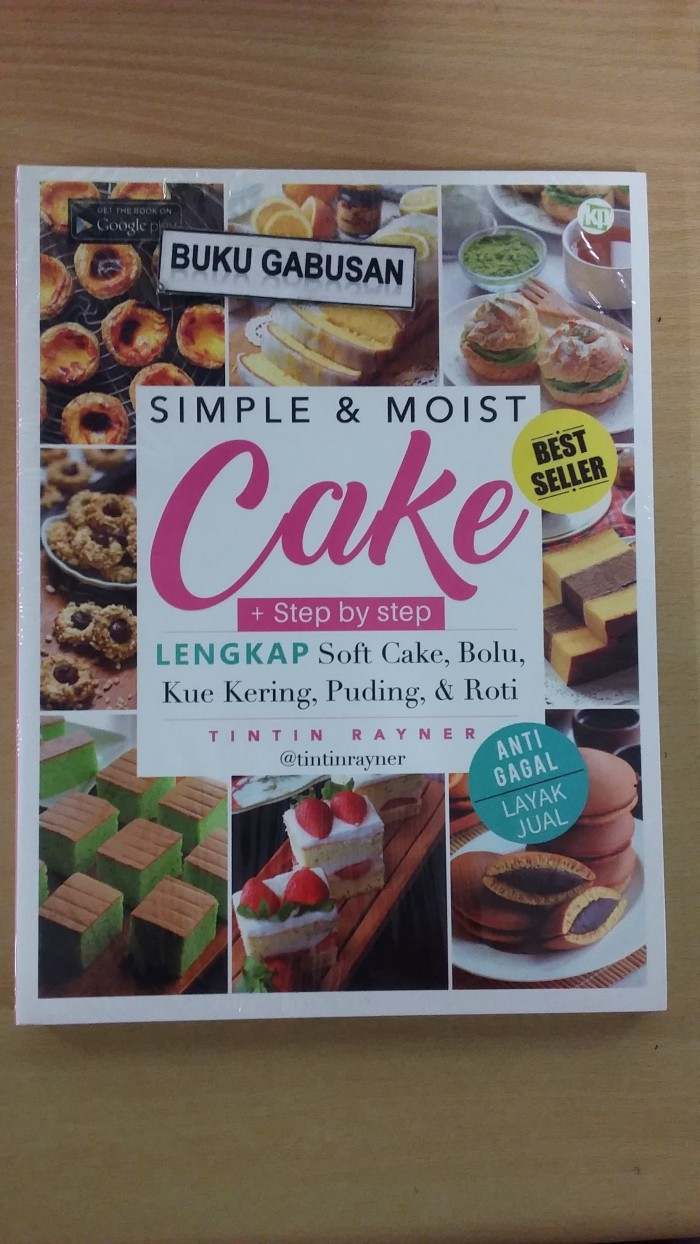 harga Buku simple & moist cake lengkap best seller ori in Tokopedia.com