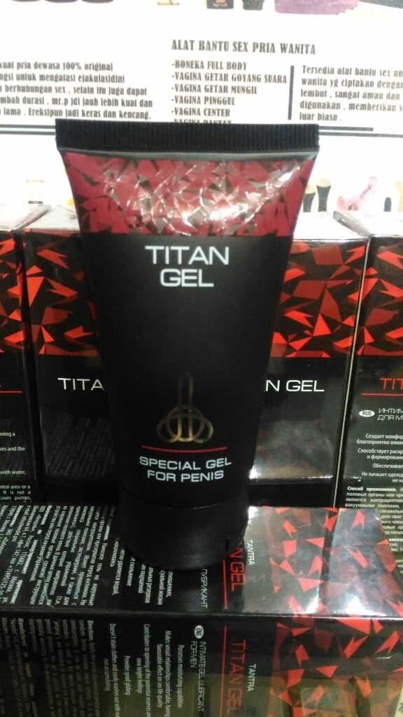 jual titan gel asli cream pembesar alat vital pria original toko