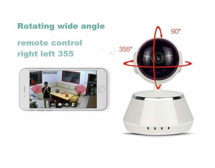 harga Ip camera ip cam cctv wifi p2p wireless scurity infrared night cctv Tokopedia.com