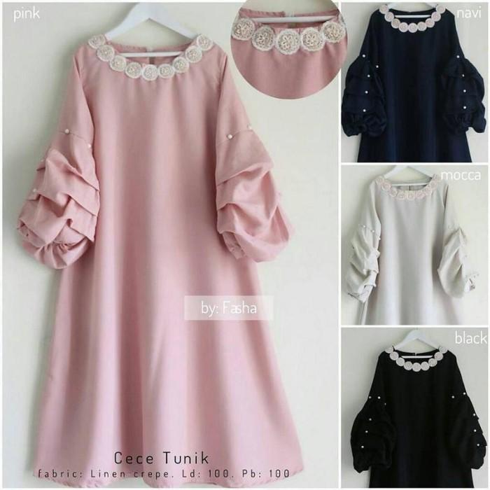 harga Baju atasan wanita baju murah muslim blouse tunik hijab kode hs75036 Tokopedia.com