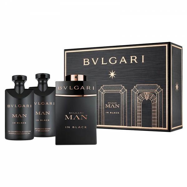Parfum original bvlgari man in black isi 3 + tas (gift set)