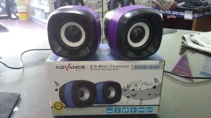 ... Speaker Aktif Portable ADVANCE Duo 040 Ungu